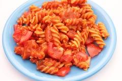 ντομάτα σάλτσας ζυμαρικών Στοκ φωτογραφία με δικαίωμα ελεύθερης χρήσης