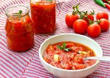 ντομάτα σάλτσας Στοκ Φωτογραφίες