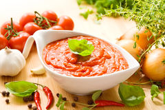 ντομάτα σάλτσας Στοκ Φωτογραφία