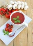 ντομάτα σούπας Στοκ Φωτογραφίες