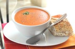 ντομάτα σούπας Στοκ εικόνα με δικαίωμα ελεύθερης χρήσης