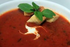 ντομάτα σούπας Στοκ Φωτογραφία