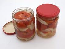 Ντομάτα στη ζελατίνα στοκ εικόνες
