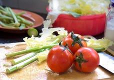 Ντομάτα τρία Στοκ Φωτογραφία