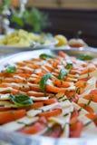 ντομάτα τυριών antipasto Στοκ φωτογραφία με δικαίωμα ελεύθερης χρήσης