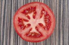 Ντομάτα φετών Στοκ φωτογραφία με δικαίωμα ελεύθερης χρήσης