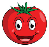 Ντομάτα χαμόγελου ελεύθερη απεικόνιση δικαιώματος
