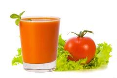 ντομάτα χυμού γυαλιού Στοκ φωτογραφίες με δικαίωμα ελεύθερης χρήσης