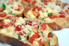 ντομάτα bruschetta Στοκ φωτογραφία με δικαίωμα ελεύθερης χρήσης