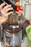 Ντομάτα Juicer Στοκ εικόνα με δικαίωμα ελεύθερης χρήσης
