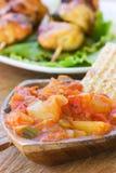 ντομάτα salsa πάπρικας Στοκ εικόνα με δικαίωμα ελεύθερης χρήσης