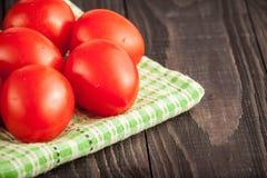 Ντομάτες δαμάσκηνων Στοκ φωτογραφία με δικαίωμα ελεύθερης χρήσης