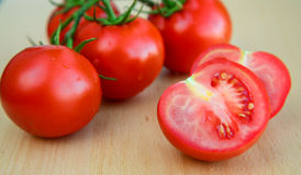 Ντομάτες ζευκτόντων Στοκ εικόνα με δικαίωμα ελεύθερης χρήσης