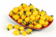 ντομάτες κίτρινες Στοκ Εικόνα
