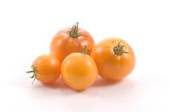 ντομάτες κίτρινες Στοκ εικόνες με δικαίωμα ελεύθερης χρήσης