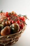 ντομάτες καλαθιών στοκ φωτογραφία με δικαίωμα ελεύθερης χρήσης