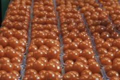 Ντομάτες κερασιών αγοράς Στοκ φωτογραφία με δικαίωμα ελεύθερης χρήσης