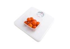 ντομάτες κλιμάκων στοκ φωτογραφίες