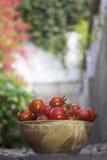 ντομάτες κύπελλων Στοκ εικόνα με δικαίωμα ελεύθερης χρήσης