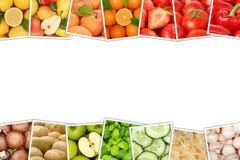 Ντομάτες λεμονιών πορτοκαλιών μήλων συλλογής φρούτων και λαχανικών Στοκ φωτογραφίες με δικαίωμα ελεύθερης χρήσης