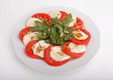 Ντομάτες με το τυρί Στοκ φωτογραφία με δικαίωμα ελεύθερης χρήσης