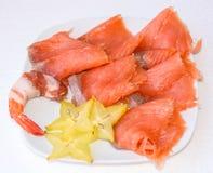 ντομάτες μοτσαρελών τροφίμων δάχτυλων κερασιών Στοκ εικόνα με δικαίωμα ελεύθερης χρήσης