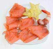 ντομάτες μοτσαρελών τροφίμων δάχτυλων κερασιών Στοκ Εικόνες