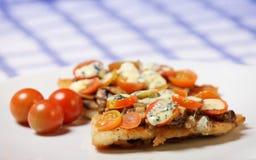 ντομάτες μπακαλιάρων ψαρι Στοκ εικόνα με δικαίωμα ελεύθερης χρήσης