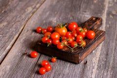 Ντομάτες Ντομάτες κερασιών Ντομάτες κοκτέιλ Στοκ φωτογραφίες με δικαίωμα ελεύθερης χρήσης