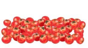 Ντομάτες ομάδας Στοκ Εικόνα