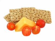 ντομάτες παξιμαδιών τυριών Στοκ εικόνες με δικαίωμα ελεύθερης χρήσης