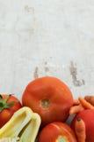 ντομάτες πιπεριών καρότων χ&a Στοκ εικόνες με δικαίωμα ελεύθερης χρήσης