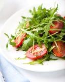 ντομάτες σαλάτας πυραύλ&omega Στοκ Εικόνες