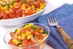 ντομάτες σαλάτας Στοκ εικόνα με δικαίωμα ελεύθερης χρήσης