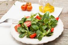 ντομάτες σαλάτας καλαμπ&om Στοκ εικόνα με δικαίωμα ελεύθερης χρήσης