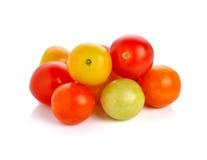 Ντομάτες σταφυλιών ή κερασιών Στοκ Εικόνες
