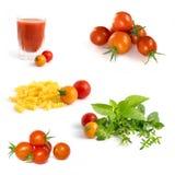 ντομάτες συλλογής κερ&alph Στοκ εικόνες με δικαίωμα ελεύθερης χρήσης