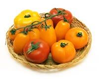 ντομάτες χρώματος Στοκ εικόνα με δικαίωμα ελεύθερης χρήσης
