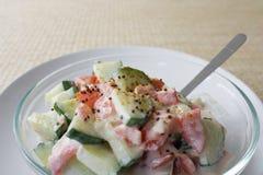 ντομάτες raita αγγουριών Στοκ φωτογραφίες με δικαίωμα ελεύθερης χρήσης
