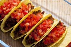 ντομάτες tacos Στοκ εικόνα με δικαίωμα ελεύθερης χρήσης