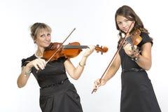 Ντουέτο κορών μητέρων Στοκ φωτογραφία με δικαίωμα ελεύθερης χρήσης
