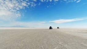 Ντουέτο Uyuni στοκ φωτογραφίες