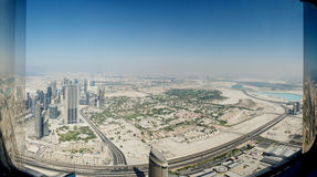 Ντουμπάι από την κορυφή Στοκ φωτογραφία με δικαίωμα ελεύθερης χρήσης