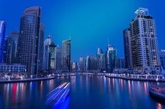 Ντουμπάι ενωμένος μαρίνα Άραβας emirats Στοκ Εικόνες