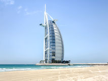Ντουμπάι, Ε.Α.Ε. - 31 Μαΐου 2013: Το αραβικό ξενοδοχείο Burj EL Στοκ Φωτογραφίες
