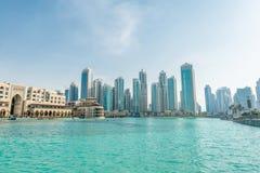 Ντουμπάι - 9 Ιανουαρίου 2015: Al Bahar ψυχής τον Ιανουάριο Στοκ Εικόνες