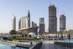 Ντουμπάι κεντρικός και η νέα Όπερα Στοκ φωτογραφία με δικαίωμα ελεύθερης χρήσης