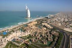 Ντουμπάι Jumeirah στοκ φωτογραφία