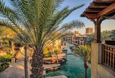 Ντουμπάι - Madinat Jumeirah στοκ φωτογραφία με δικαίωμα ελεύθερης χρήσης