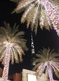 ΝΤΟΥΜΠΑΙ, Ε.Α.Ε. - 7 Απριλίου 2014: Πνεύμα ουρανοξυστών και οδών του Ντουμπάι Burj Στοκ Εικόνα